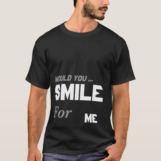 SMILE for ME (Blk) T-Shirt