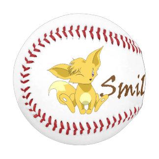 """""""Smile for Me"""" Fox Kit Baseball"""