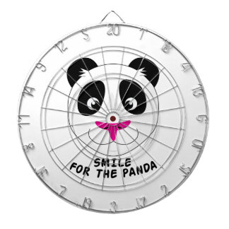 Smile For Panda Dartboard With Darts