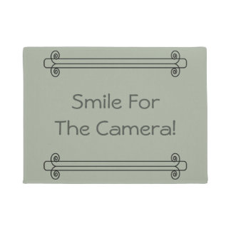 Smile For The Camera Doormat