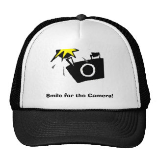 Smile for the Camera! Trucker Hat
