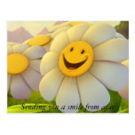 Smile from Afar Postcard