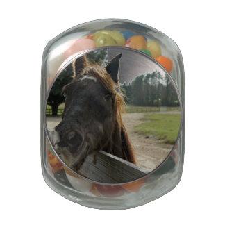 Smile Glass Jar