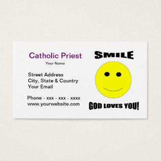 Smile God Loves You Business Card