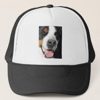Smile! Greater Swiss Mountain Dog Trucker Hat