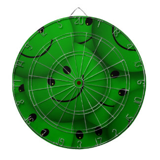 Smile green dart board