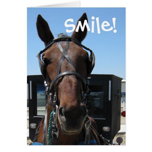Smile! Greeting Card