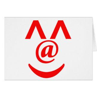 smile^^ greeting card