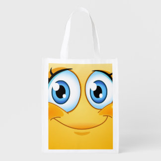 SMILE Grocery, Gift, Favor Bag - SRF Market Tote