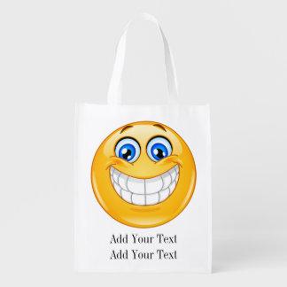 SMILE Grocery, Gift, Favor Bag - SRF Reusable Grocery Bag