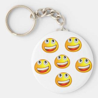 Smile Happy Day Keychain