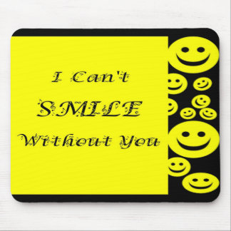 Smile Happy Face / Music Mouse Pad
