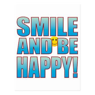 Smile Happy Life B Postcard