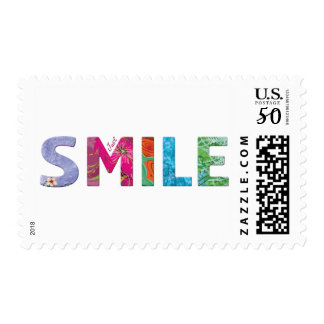 Smile Happy Quote 03 Postage