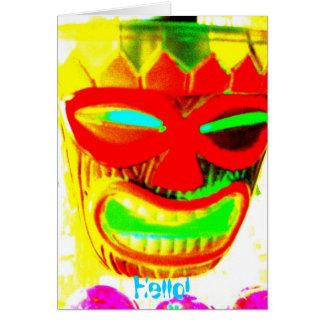 Smile, Hello! Card