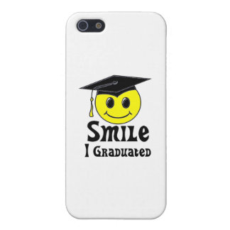 Smile, I Graduated! Covers For iPhone 5