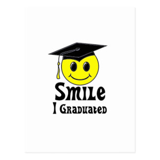 Smile, I Graduated! Postcard