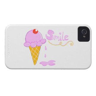 Smile Ice Cream iPhone 4 Case