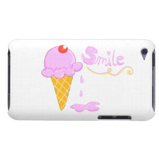 Smile Ice Cream iPod Case-Mate Case