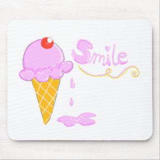 Smile Ice Cream Mouse Pad