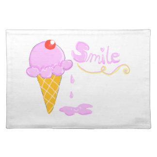 Smile Ice Cream Placemat