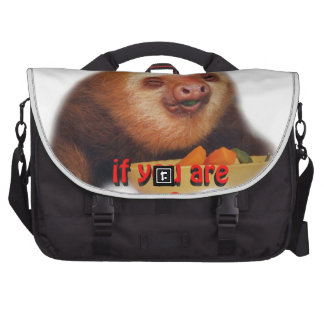 smile if you are a vegan bags for laptop