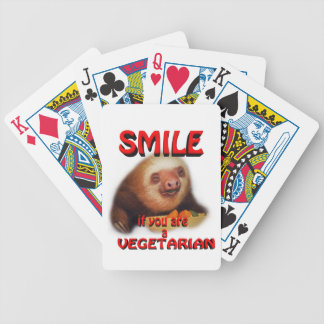 smile if you are vegetarian card deck