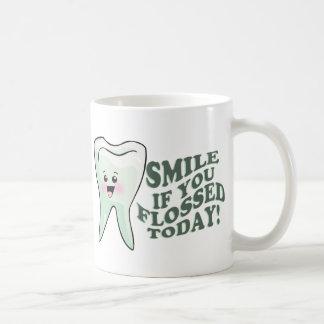 Smile If You Flossed Today Coffee Mug