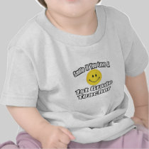 Smile If You Love A 1st Grade Teacher Tshirt