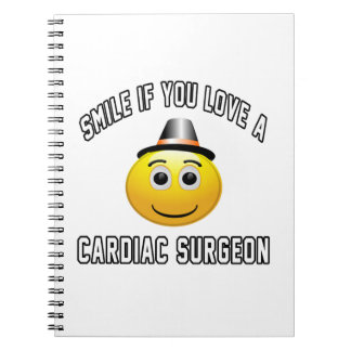 smile if you love a Cardiac Surgeon. Spiral Notebook