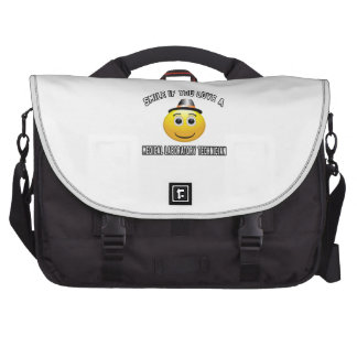smile if you love a Medical Laboratory Technician. Laptop Bags