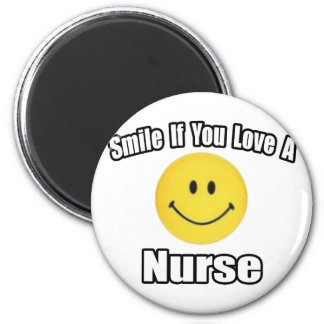 Smile If You Love a Nurse Magnet