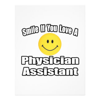 Smile If You Love A Physician Assistant Flyer