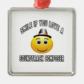 smile if you love a Soundtrack composer. Ornament