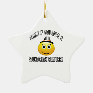 smile if you love a Soundtrack composer. Christmas Ornaments