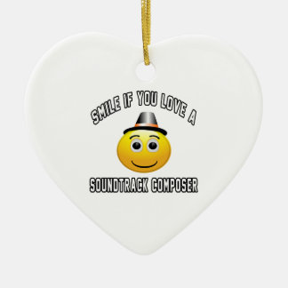 smile if you love a Soundtrack composer. Christmas Tree Ornaments