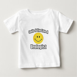Smile If You Love a Urologist Baby T-Shirt