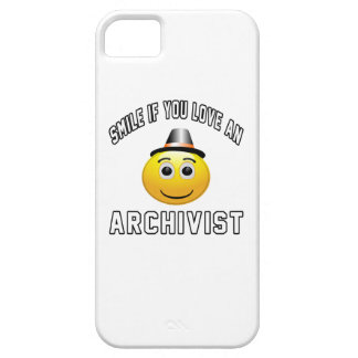 smile if you love an Archivist. iPhone 5 Cases