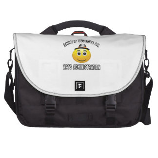 smile if you love an Arts administration. Laptop Bags