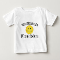 Smile If You Love an Electrician Infant T-shirt