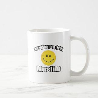 Smile If You Love Being Muslim Coffee Mug