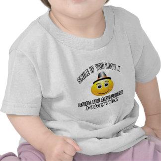Smile if you love Daito Ryu Aiki Bujutsu Fighter Tees