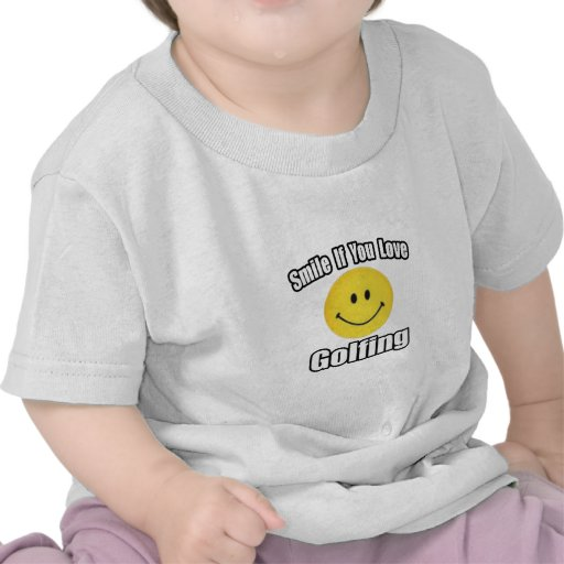 Smile If You Love Golfing T-shirt
