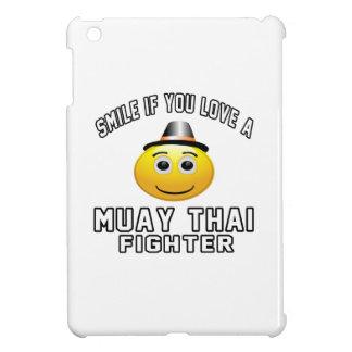 Smile if you love Muay Thai Fighter iPad Mini Case