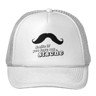 Smile if you love my stache hats