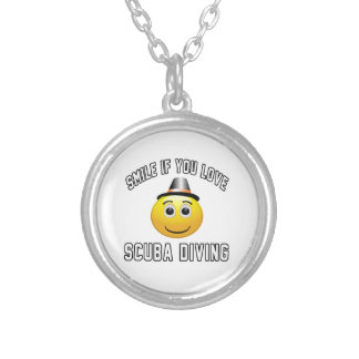 Smile if you love Scuba Diving. Necklaces