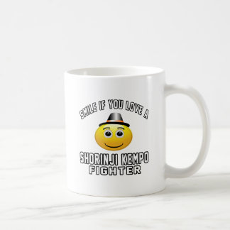 Smile if you love SHORINJI KEMPO Fighter Mugs