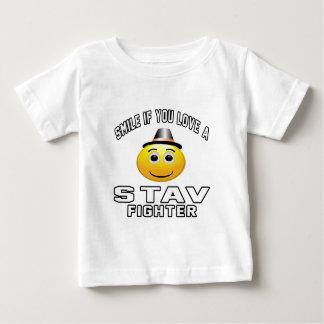 Smile if you love STAV Fighter Infant T-shirt