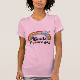 SMILE IF YOU RE GAY SHIRTS