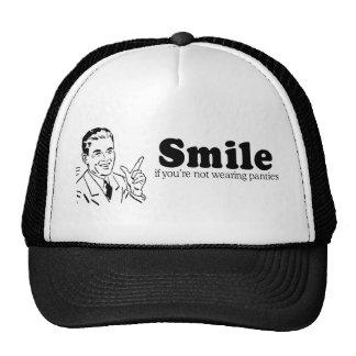 SMILE IF YOU RE NOT WEARING PANTIES HAT